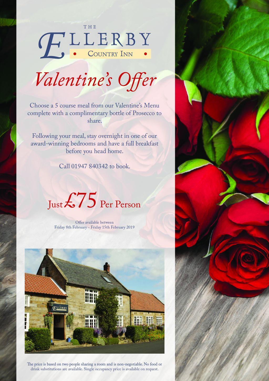 Ellerby Hotel Valentines Offer